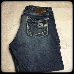BKE dark wash jeans 31x31 stretch Sabrina style
